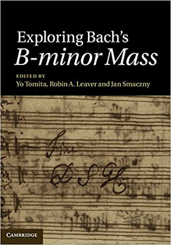 Book Exploring Bach's B-minor Mass