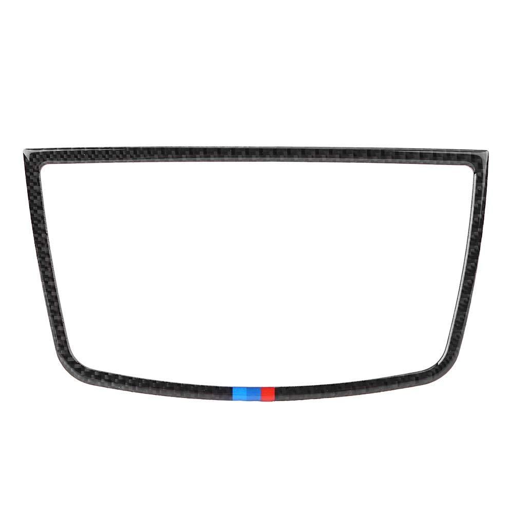 Keenso 2 PCS Carbon Fiber Car Audio Speaker Cover Frame Trim Interior Accessorie For BMW E70/E71/X5/X6 2008-2013(BMW Color)
