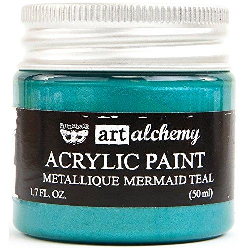 Prima Marketing Art Alchemy-Metallique-Mermaid Teal