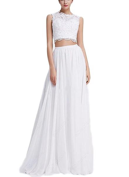 Amazon.com: veilace Mujer Crystal boda vestidos de novia ...