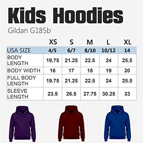 Indica Plateau Kids Hoodie Its About to Get Messi Large Maroon Hoodie by Indica Plateau (Image #4)