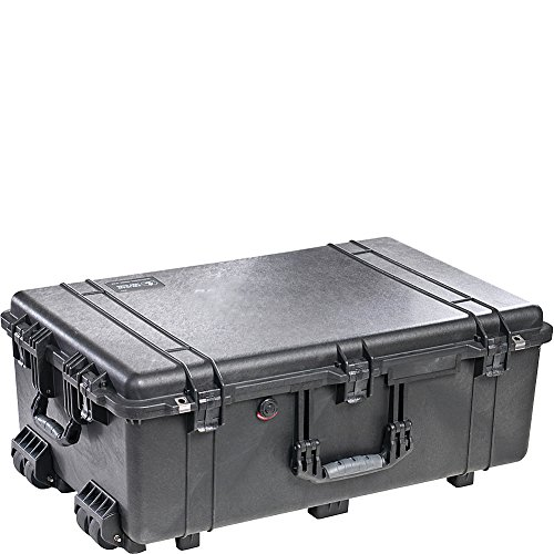 Pelican 1650 Case with Foam for Camera (Black)