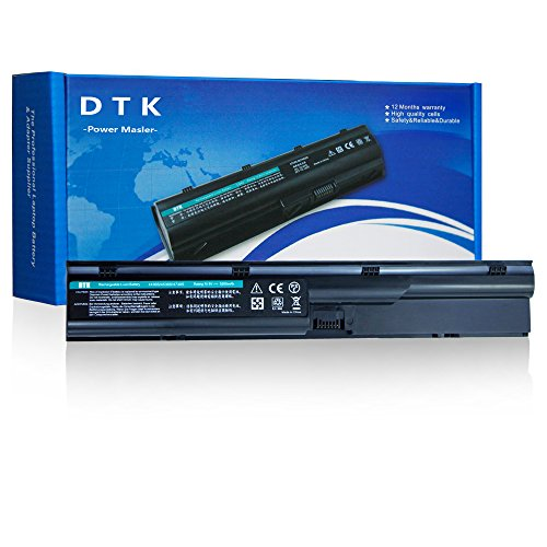 DTK New Laptop Battery Replacement for Hp Probook 4330s 4331s 4430s 4431s 4435s 4530s 4535s 4536s 4440s 4441s 4446s 4540s 4545s Series [6-cell 10.8v 4400mah] Notebook Battery