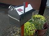 Stainless Steel Mailbox - Satin Finish Dutch Barn