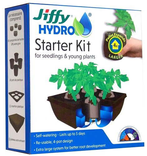 Jiffy JH4-8 Starter Kit by Jiffy