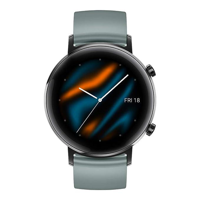 Huawei Watch GT 2 Sport - Smartwatch con Caja de 42 mm, 1 Semanas de Uso, Pantalla Táctil AMOLED de 1.2