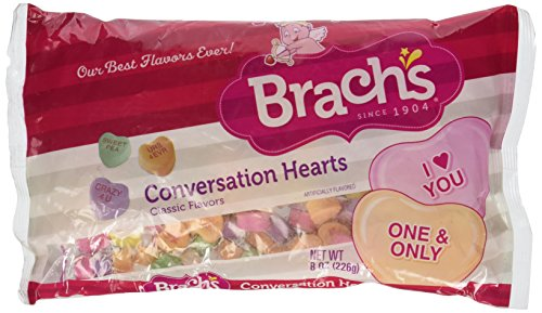 Brach's Conversation Hearts, 8oz Bag