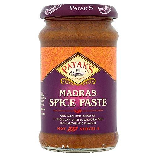 Pataks - Madras Spice Paste - 283g -  Patak's, PTK-BAF073