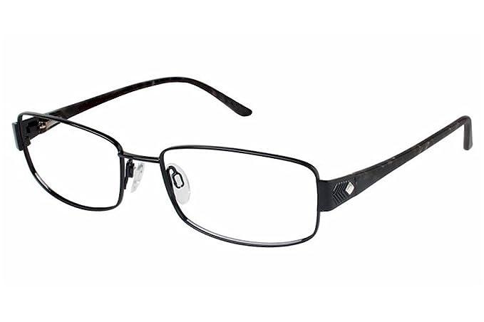 781d57c6fd0 Charmant Womens Eyeglasses TI12111 TI 12111 BK Black Full Rim Optical Frame  55mm