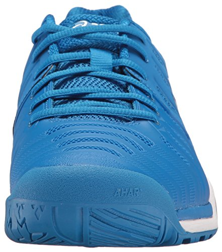 ASICS Men's Gel-Resolution 7 Tennis-Shoes Director Blue/Silver/White countdown package sale online the cheapest sale online countdown package discounts sale online lJPXRrl