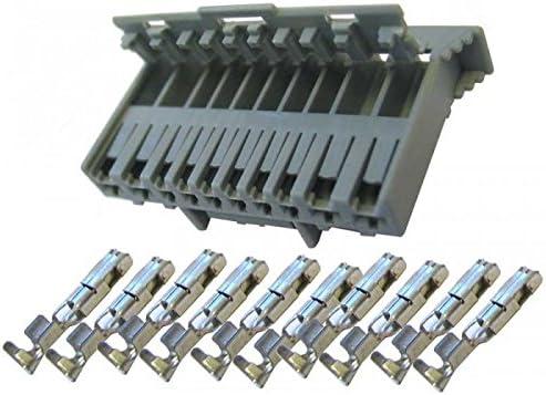 Kit connecteur gris 10 voies pour body computer panda complet