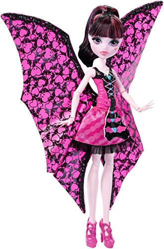 Monster High Ghoul-to-Bat Transformation Draculaura Doll ()