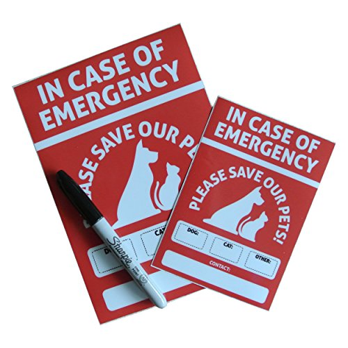 Pet Rescue Sticker UV Resistant Reflective product image