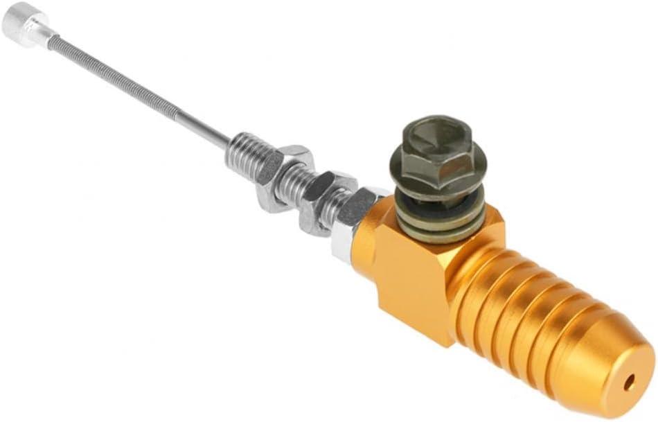 Orange M10x1,25mm Stangenbremspumpe Motorrad Hydraulikkupplung Hauptbremszylinder Kupplungsbremspumpe