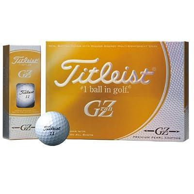 Titleist GZ GRANZ 1 dozen 12 pieces premium gold pearl