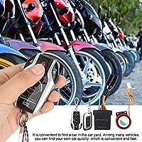 Allarme di sicurezza per motocicletta 105-125dB Sistema di sicurezza antifurto per avvisatore acustico per clacson