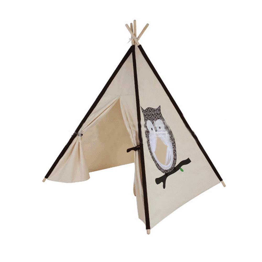 Gioco Per Bambini Gioco Tenda Casa Gufo Modello Ragazzo Ragazza Castello Coperta All'aperto Facile Da Smontare Semplice Regalo Di Moda