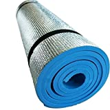EVA Foam Extra Thick Camping Picnic Pad Yoga Mat Exercise Sleeping Outdoor Mattress Beach Cushion–blue