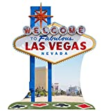 Vegas Sign - Vegas Party Theme - Advanced Graphics Life Size Cardboard Standup