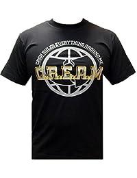Wu-Wear CREAM Tee T Shirt Black Schwarz T-Shirt Wu-Tang Clan Wu Wear Herren Men