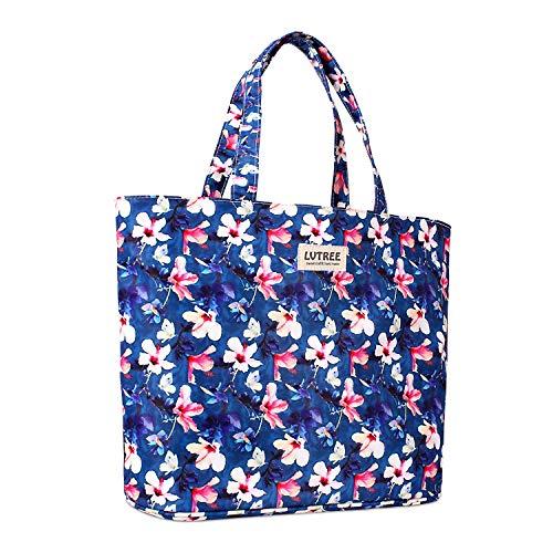Lvtree Tote Shoulder Bag Handbag, Foldable Wallets Purse Bag for Outdoors Gym Hiking Picnic Travel Beach