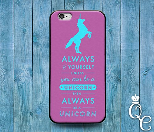*BoutiqueHouse* iPhone 4 4s 5 5s 5c SE 6 6s plus iPod Touch 4th 5th 6th Gen Cool Purple Unicorn Funny Word Quote Case Cute Custom Funny Girl Phone Cover(Samsung Galaxy S5)
