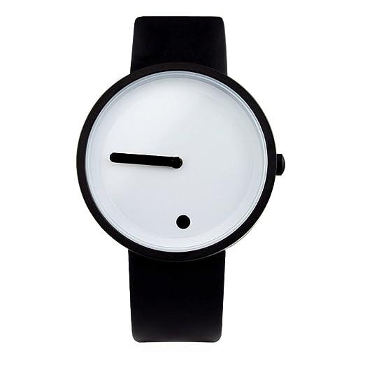 Diseño creativo/ relojes minimalistas puntos verticales-D: Amazon.es: Relojes