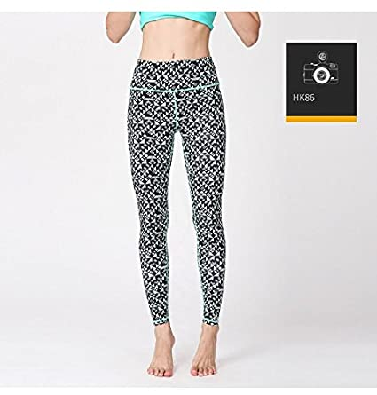 Amazon.com: New Sporting Leggings High Waist Yoga Pants ...