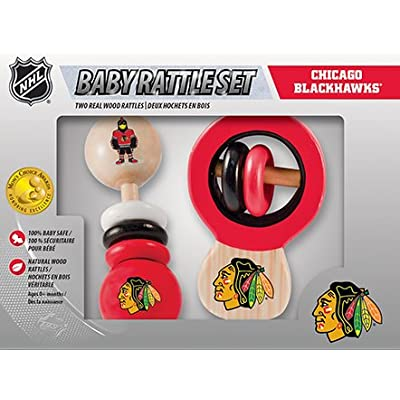 MasterPieces NHL Baby Rattle, 2-Pack: Sports & Outdoors [5Bkhe1103260]