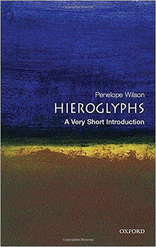 Hieroglyphs A Very Short Introduction