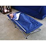 Regalo My Cot Deluxe Portable Folding Travel Bed with Sleeping Bag