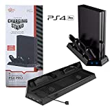 use fan - PS4 Slim Vertical Stand Cooling Fan with Dual USB Charger Ports 2 in 1 Dual Use with Cooling and Charging System