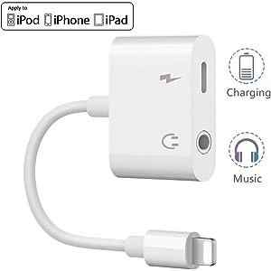 Adaptador de Conector para Auriculares iPhone / 8 / X / 7 ...