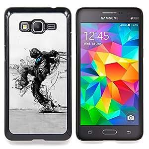 """Qstar Arte & diseño plástico duro Fundas Cover Cubre Hard Case Cover para Samsung Galaxy Grand Prime G530H / DS (Arte Protección de la Naturaleza Distruction Ecológica"""")"""