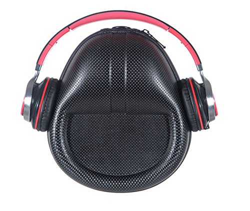 Carrying Headset-Headphones Hard Bag Box Cover Case for Beats Studio 3 Beats Solo3 Sony MDR-XB450AP XB650BT XB950 10R MDR-IA 100AAP ABN ATH M50-M40, Philips, and More On-Ear Headphone (Mottle)