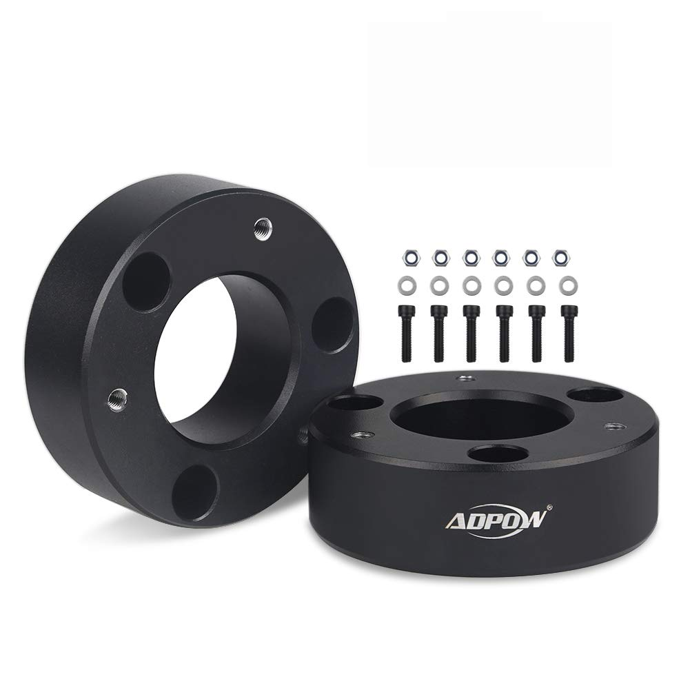 "ADPOW Compatible with 3"" Front Leveling Lift Kit Chevy GMC GM Silverado1500 2WD/4WD/ Sierra 1500 2007-2019 2WD/4WD Pickup 3""Front Silverado Lift Kits"