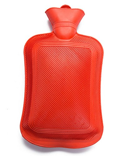 LFHT Rubber Hot Water Bottle Red by LFHT