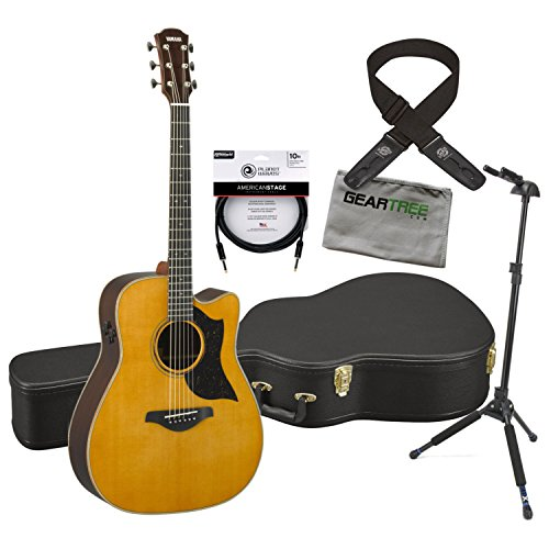 - Yamaha A5R VN MADE IN JAPAN A Series Acoustic Electric Guitar w/Cloth, Lock-it