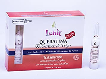 LAS MEJORES AMPOLLAS PARA EL CABELLO -THE BEST AMPULE FOR THE HAIR - LEHIT MADE