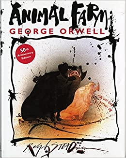 Amazon Com Animal Farm A Fairy Story 9780151002177 George Orwell Ralph Steadman Books