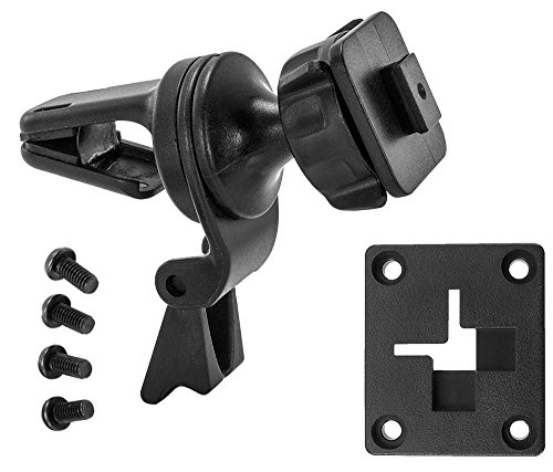 Arkon Air Vent Car Mount for Sirius XM Satellite Radios - Single T and AMPS Pattern Compatible Retail Black