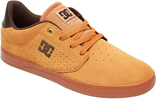 DC Shoes Men's Plaza TC S Skate Shoes Tan/Gum 8