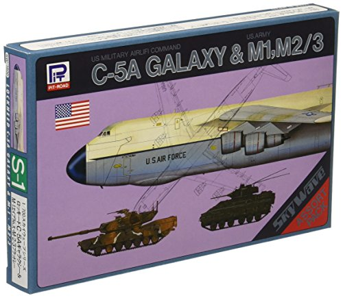 Pit-Road Skywave S-01 C-5A Galaxy & M1 M2/3 1/700 scale kit 4986470018041