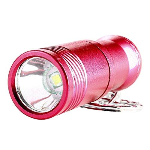 Tailight Panel (Leading Popular Mini Keychain 2000 Lumen 3 Mode LED Flashlight Waterproof Skid Proof Keyfob Color Red)