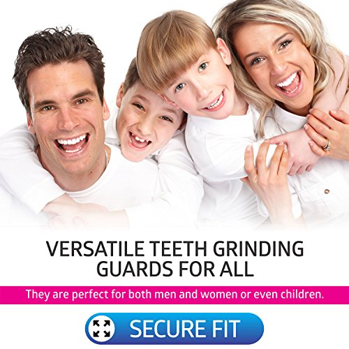DentalCare Labs Teeth Grinding Custom Fit BPA-Free Mouldable Dental Night Guards in 2 Sizes (Pack of 4) by DentalCare Labs (Image #4)