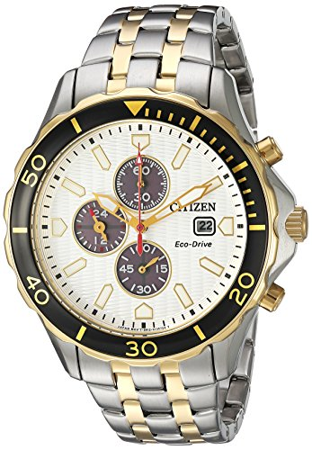 Citizen-Mens-Eco-Drive-Quartz-Stainless-Steel-Casual-Watch-ColorTwo-Tone-Model-CA0564-58A