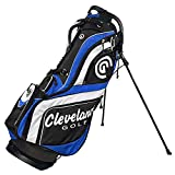 Cleveland Golf Men's Cg Stand Bag, Black/Blue/White Review