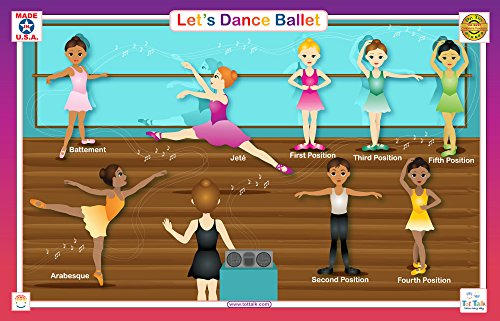 Ballet Tote (Tot Talk Ballet Educational Placemat for Kids)