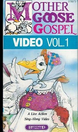 Amazon Com Mother Goose Gospel Video Vol 1 Live Action Sing