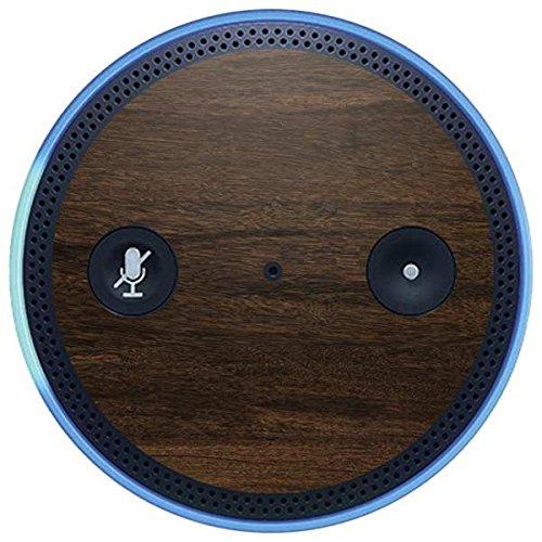 Skinit Wood Amazon Echo Plus Skin - Kona Wood Design - Ultra Thin, Lightweight Vinyl Decal Protection